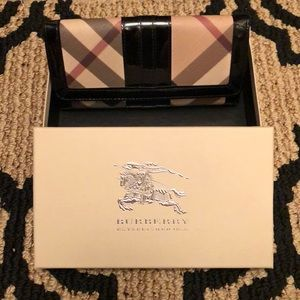 Authentic Burberry Supernova Black Wallet